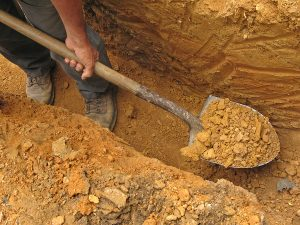 Сколько стоит выкопать кубометр земли Копка Земляные работы