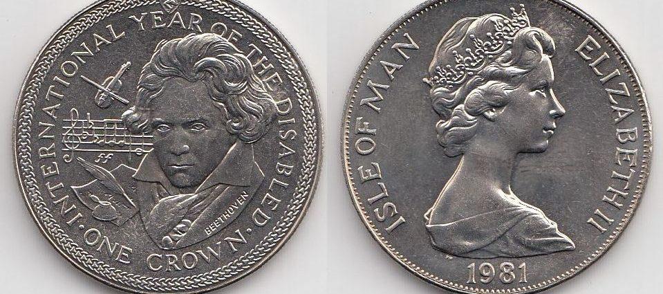 Сколько стоит монета Бетховена Монеты Монета Бетховена Деньги