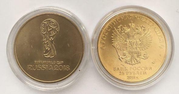 Сколько стоит монета 25 рублей 2018 Монеты FIFA Монеты 2018 Монеты Деньги
