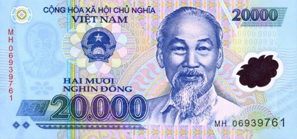 Сколько стоит вьетнамский донг Курс валют донг Деньги вьетнамский донг Валюта