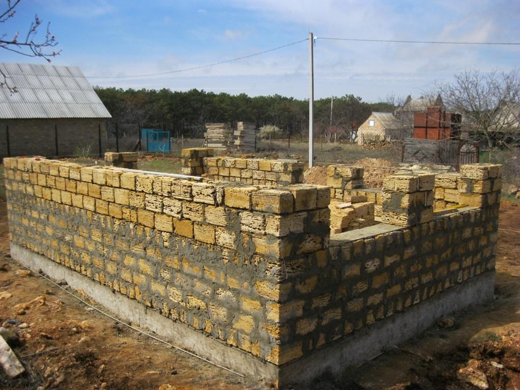 """Сколько стоит строительство дома из ракушечника """"под ключ"""" цена строительство стоимость ракушечник Дом"""